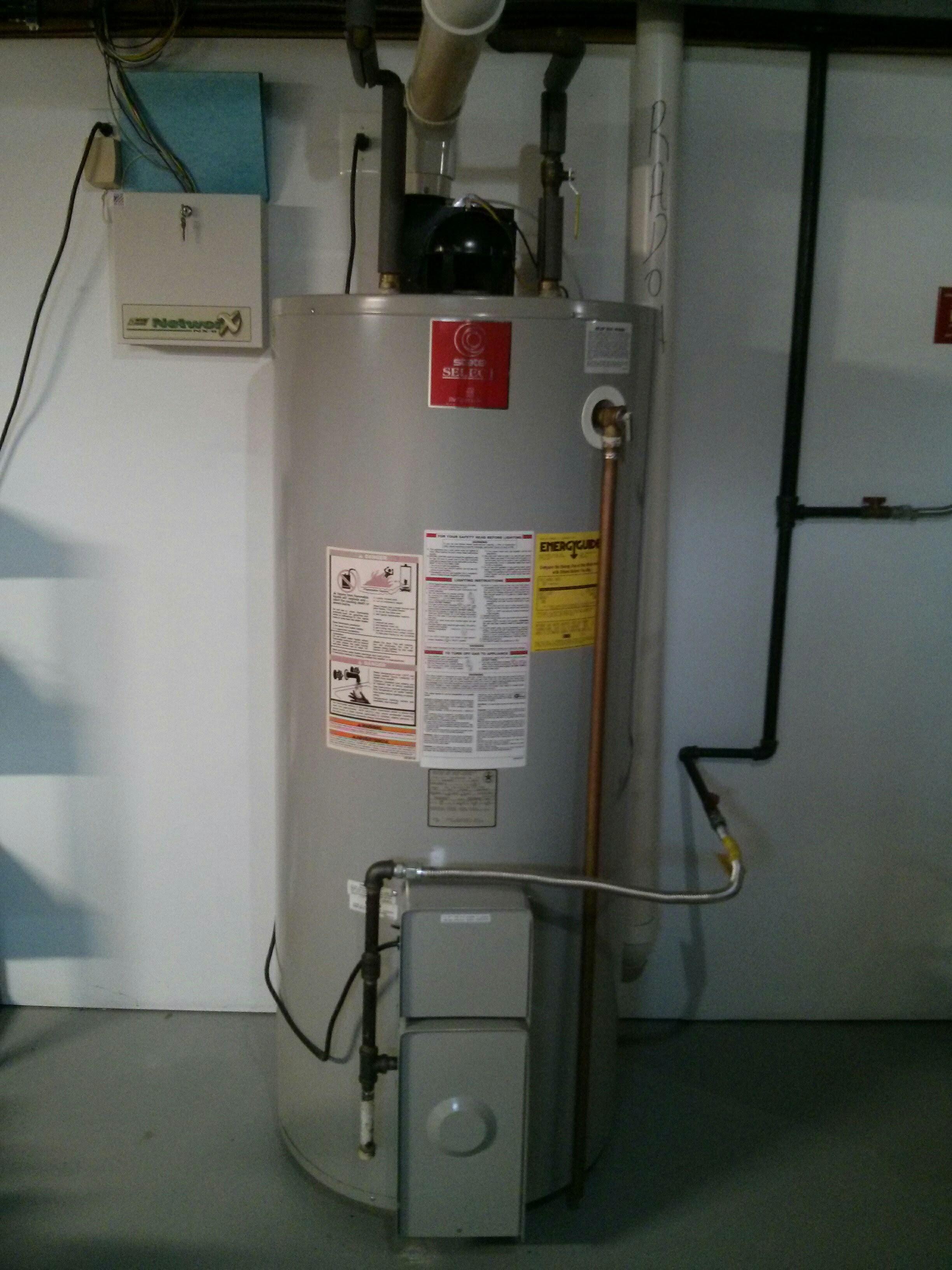 Hot Water Heater Problems >> Water Heater Power Vent Blower Motor Snubber Retrofit